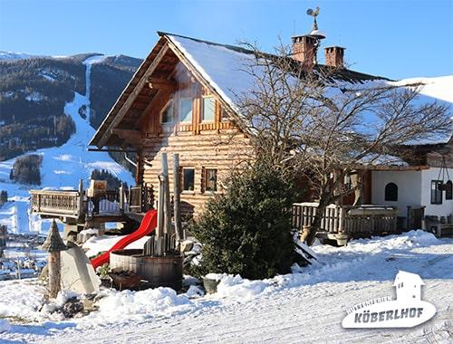 Almhaus Koeberlhof in der Murau-Kreischberg Region,Steiermark