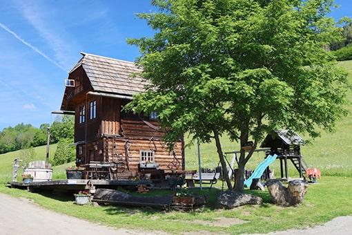Troadkasten auf dem Köberlhof am Kreischberg in Murau Steiermarkt